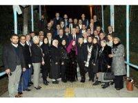 Başkan Saraçoğlu, Kent Konseyi'nin başkan ve üyeleriyle bir araya geldi