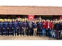 Maden işçilerinden Mehmetçiğe anlamlı bağış