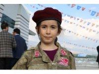 Cumhurbaşkanı 6 yaşındaki bordo bereli kızı teselli etti