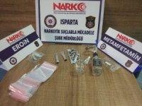 Isparta'da 'torbacı' operasyonunda 2 tutuklama
