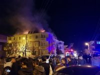 Tokat'ta korkutan yangın