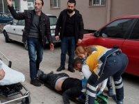 Aksaray'da 7 katlı apartmanın çatısından atlayan kişi hayatını kaybetti