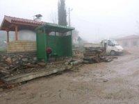 Körfez'de köylere otobüs durağı yapılıyor