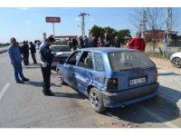 Adana'da zincirleme trafik kazası: 1 yaralı