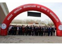 Bakan Özlü, Düzce'de spor tesislerinin açılışını yaptı