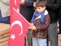 Sivas'ta Şehitlere Saygı Yürüyüşü