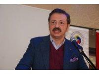 """TOBB Başkanı Hisarcıklıoğlu, """"Bugün Türkiye bir sanayi ülkesi haline geldi"""""""