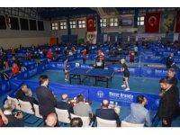Adana'da 6. Veteran Masa Tenisi Turnuvası başladı