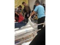 Kopan parmağı hastanede kayboldu, o anlar kameralara yansıdı