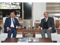 DAP Bölge Kalkınma İdaresi Başkanı Adnan Demir'den Başkan Köksoy'a ziyaret