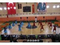 Ardahan Belediyesi Kış Güneşi Halk Dansları İl şampiyonasında birinci oldu