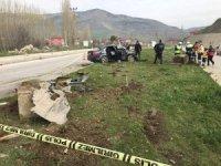 Bakan Fakıbaba'yı korumakla görevli polisler kaza yaptı: 3 yaralı