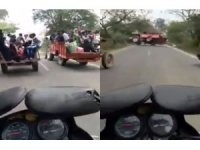 Traktörlerin yarışı kötü bitti: 7 yaralı