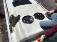 Minibüsün klima boşluğunda kaçak sigara çıktı