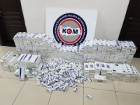 Mersin'de sigara kaçakçılarına operasyon