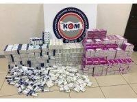 Mersin'de ilaç kaçakçılığı operasyonu