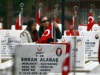 Ankara'da şehitler gözyaşlarıyla anıldı