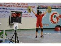 Okul Sporları Yıldızlar Türkiye Halter Şampiyonası sona erdi