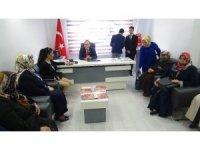Türkmenoğlu gazi ve şehit aileleriyle bir araya geldi