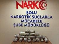 Cezaevi firarisi 7 kilo 480 gram esrarla yakalandı