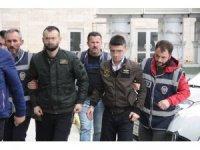 Samsun'da silahlı yaralamaya 4 tutuklama
