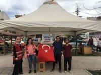Afyonkarahisar'da öğrencilerden kan bağışına destek