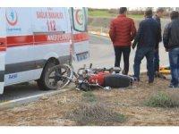 Beyşehir'de trafik kazası: 1 yaralı