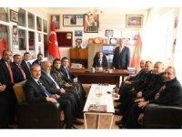 Vali Kalkancı ve il protokolü TÜMŞAD üyeleriyle bir araya geldi