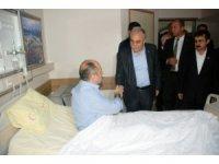 Bakan Fakıbaba, kazada yaralanan koruma polislerini ziyaret etti