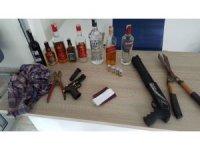 Dalaman polisi yabancı uyruklu hırsızlık çetesini yakaladı