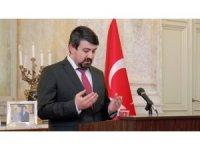Viyana Büyükelçiliğinde şehitleri anma töreni düzenlendi