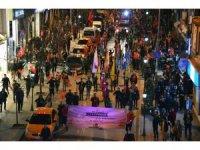 Kırıkkale'de şehitlere saygı yürüyüşü