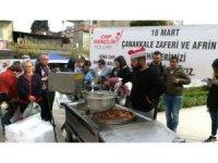 CHP'li gençlerden şehitlerin ruhuna lokma hayrı