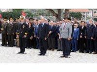Foça'da, Çanakkale Zaferi'nin 103. yıl dönümü töreni