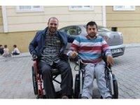 Engelli genç hayaline sosyal medya sayesinde ulaştı