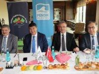 Başkan Köşker, Sağlıklı Kentler Birliği toplantısına katıldı