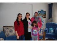Sema Ünlü, Şehit Ailesini ziyaret etti