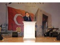 """Küçükçekmece'de farklı dillerde"""" Çanakkale Türküsü"""" söylendi"""