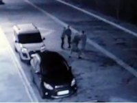 Tokat'ta iki grup arasındaki kavga güvenlik kamerasına yansıdı