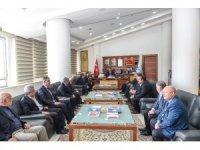 Oda başkanlarından Çakır'a ziyaret