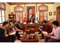 Başkan Yağcı, öğrencilerle bir araya geldi