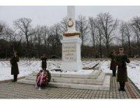 Türk şehitleri Budapeşte'de askeri törenle anıldı