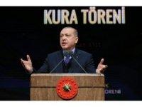 """Cumhurbaşkanı Erdoğan: """"Virgülü koyduk, inşallah nokta koyulacak"""""""