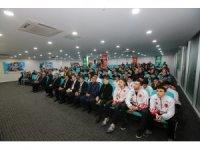 Gaziosmanpaşa Belediyesi'nden başarılı olan sporculara 100 bin TL para ödülü