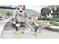 Yeşildere'de hat yenilendi, asfaltlama başlıyor