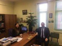 Deligöz'den ödüllü akademisyene ziyaret