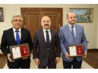 TSK Güçlendirme Vakfından Amasyalı imamlara madalya
