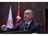 """Cumhurbaşkanı Erdoğan: """"Deve kuşu misali kafalarını kuma sokuyorlar ama hakikatler gün gibi ortada farkında değiller"""""""