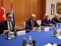 Başbakan Yardımcısı Işık, Sırbistan Başbakan Yardımcısı Ljajic ile görüştü