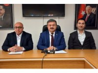 AK Parti İl Başkanlığı haftalık basın toplantısı